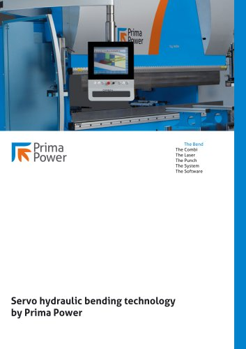 Servo hydraulic bending technology by Prima Power