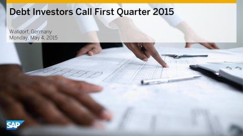 Debt investor Call First Quarter
