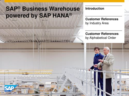 SAP® Business Warehouse powered by SAP HANA®