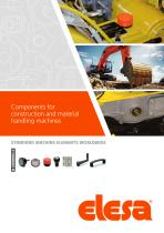 Components for construction vehicles, equipment and machinery
