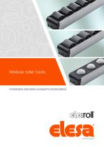 Modular roller tracks