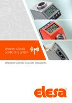 Wireless spindle positioning system