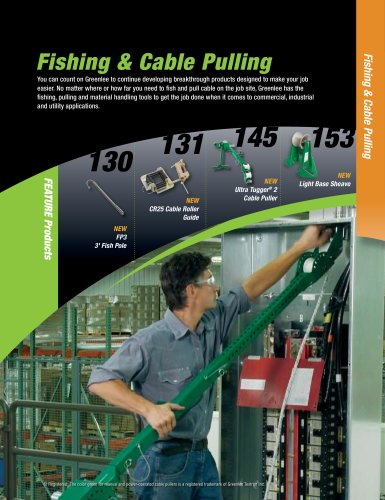 Fishing and Cable Pulling Catalog