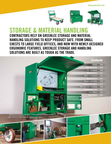 Storage & Material Handling Catalog