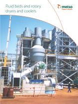 Fluid Beds and Rotary Dryers and Coolers Brochure - 1