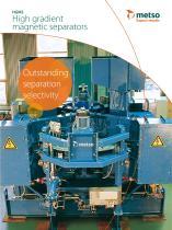High Gradient Magnetic Separator (HGMS) Brochure - 1