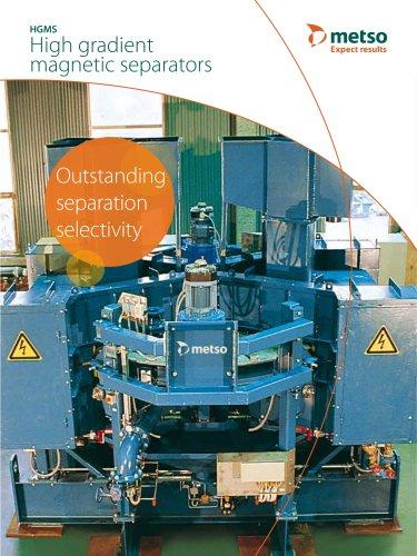 High Gradient Magnetic Separator (HGMS) Brochure