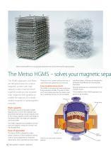 High Gradient Magnetic Separator (HGMS) Brochure - 4