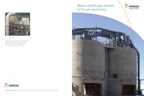 Metso Centrifugal Air Classifier for Fly Ash Processing - 1