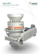 Metso MX™ Multi-Action Cone Crusher Brochure - 1