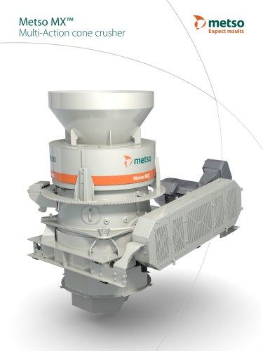 Metso MX™ Multi-Action Cone Crusher Brochure
