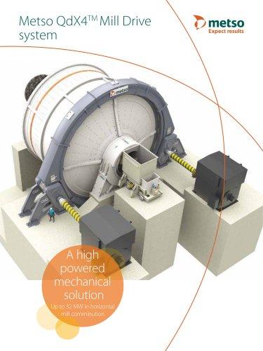 Metso QdX4TM Mill Brochure