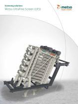 Metso UltraFine Screen (UFS) Brochure - 1