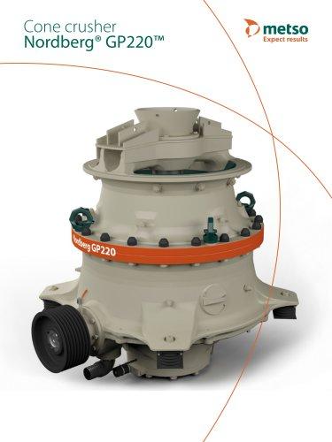 Nordberg® GP220™ COne Crusher