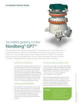 Nordberg® GP7™ Secondary Gyratory Crusher Brochure - 2