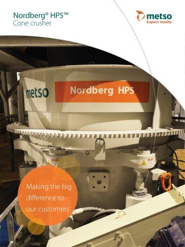 Nordberg® HP5™ Cone Crusher Brochure