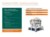 Nordberg® HP900 - 2