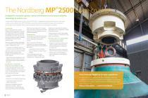 Nordberg® MP 2500 Cone Crusher Brochure - 2