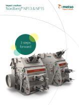Nordberg® NP13 & NP15 Impact Crusher Brochure - 1