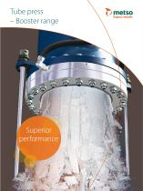 Tube Press Booster Range Brochure - 1
