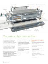 Vertical plate pressure filter VPA - 4