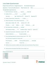 VERTIMILL® Lime Slaker Technical Sheet and Questionnaire - 2