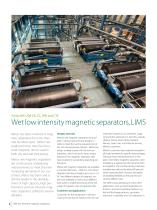Wet low intensity magnetic separators - 2