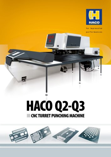 HACO Q2-Q3 CNC TURRET PUNCHING MACHINE