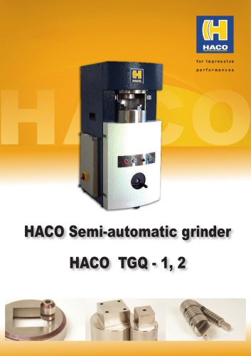 Punch tooling grinder