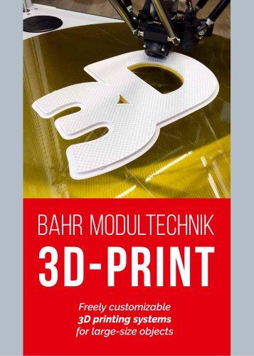 BAHR MODULTECHNIK 3D-PRINT
