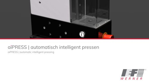 aiPRESS   automatic intelligent pressing