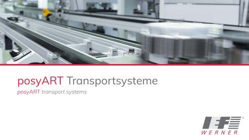 Conveyor system posyART