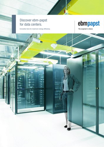 Discover ebm-papst for data centers