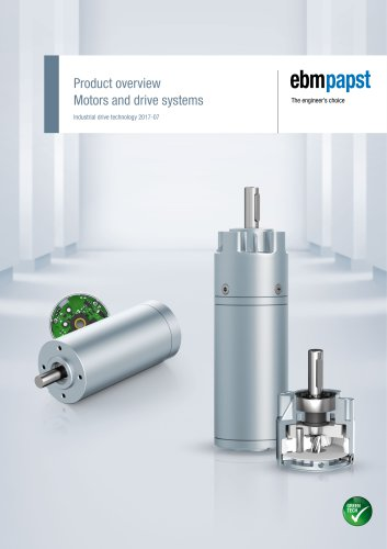 Product overview Motors and drive systems