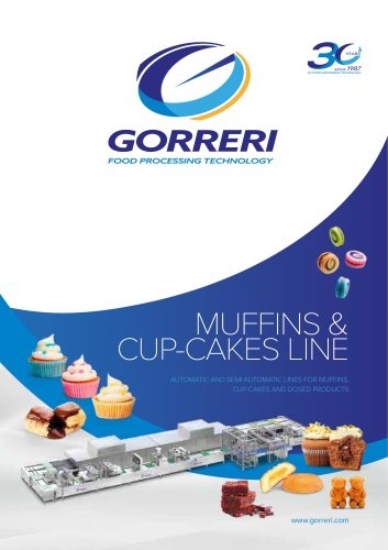 MUFFINS & CUP-CAKES LINE