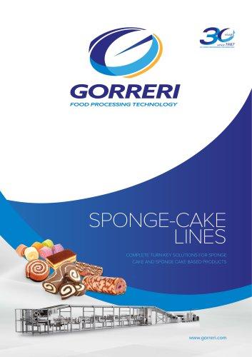 SPONGE-CAKE LINES