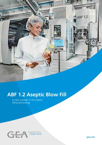 ABF 1.2 Aseptic Blow Fill