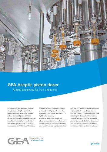 GEA Aseptic piston doser