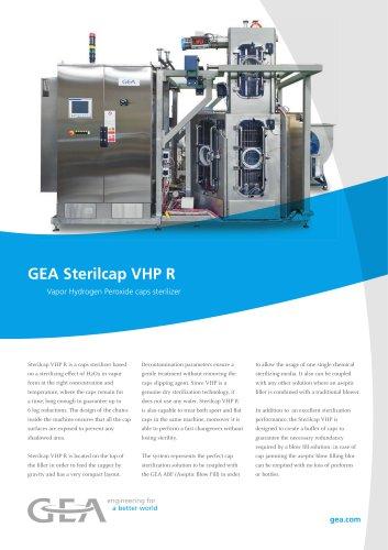 GEA Sterilcap VHP R Vapor Hydrogen Peroxide caps sterilizer