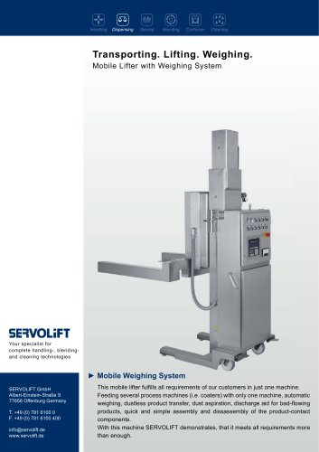 Mobile Weighing System