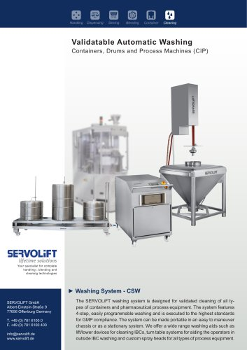Washing System - CSW