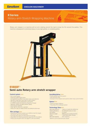 Sinolion semi-auto Rotary arm stretch wrapper R1800F