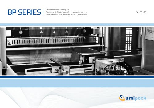 BP Series / Shrink wrappers with sealing bar