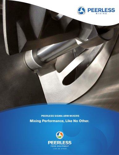 Peerless Sigma Mixer Brochure 2012