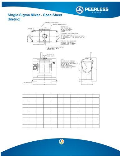 SD Metric Spec Sheet