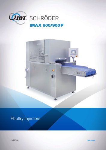 IMAX 600/900P Poultry injectors