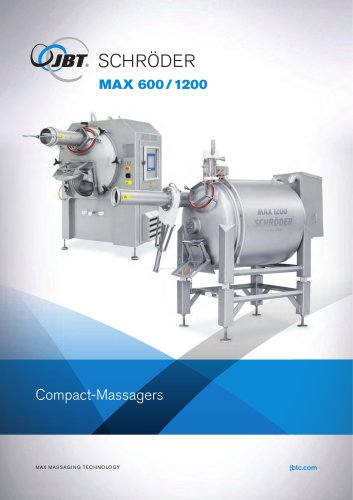 MAX 600/1200 Compact Massagers
