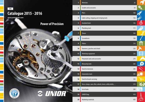 Catalogue 2015 - 2016