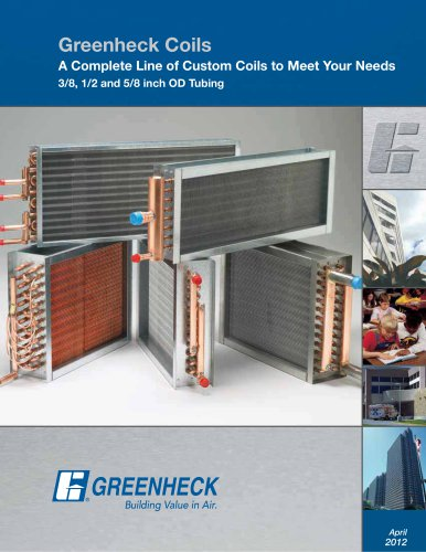 Greenheck Coils Brochure