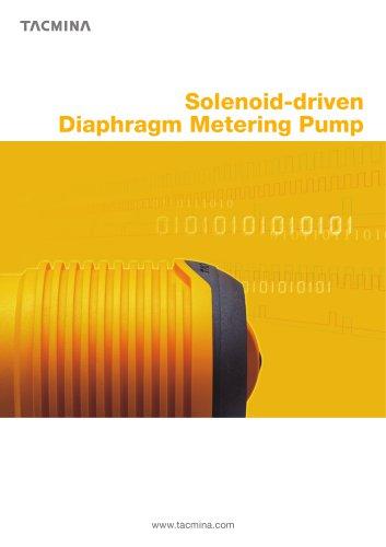 Solenoid-driven Metering Pumps